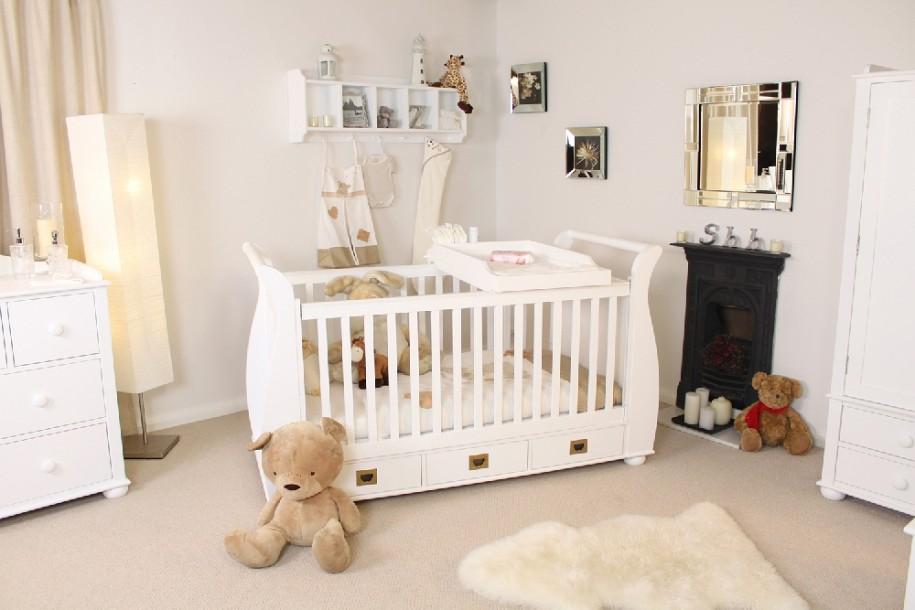25 baby bedroom design ideas for your cutie pie for Bedroom ideas for babies