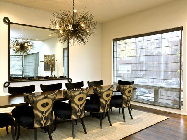 Bucktown Beauty modern-dining-room