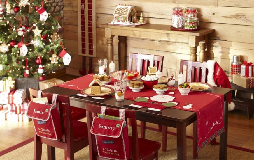 25 Stunning Christmas Dining Room Decoration Ideas