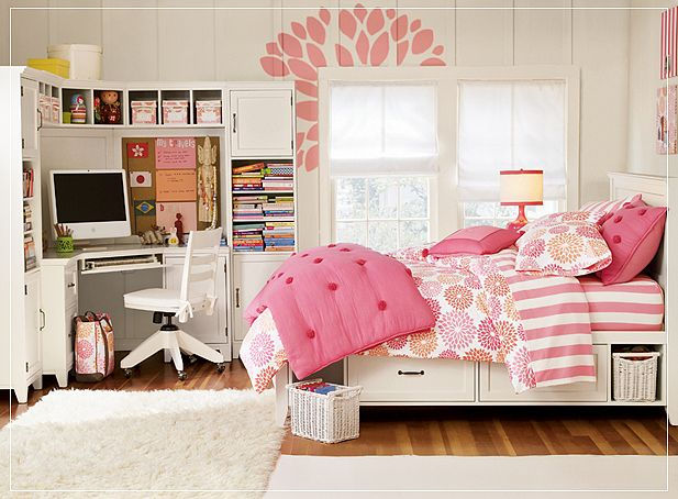 Cool Teenage Girl Bedrooms