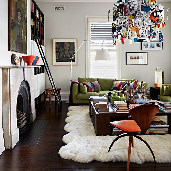 25 Stunning Eclectic Living Room Decor Ideas