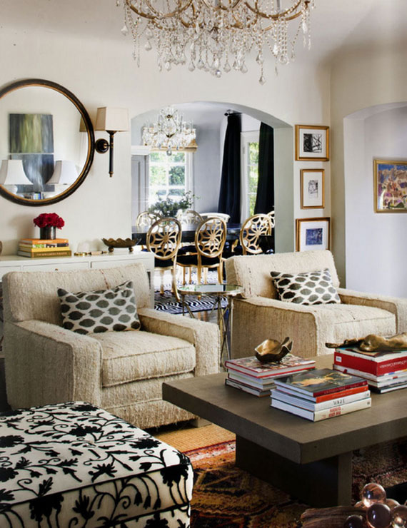 16 Superb Eclectic Living Room Designs That Will Severely ... |Eclectic Room Design