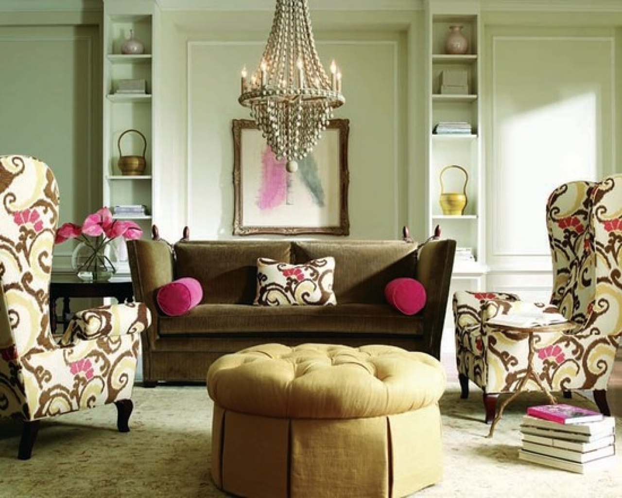 25 stunning eclectic living room decor ideas for Living room art ideas
