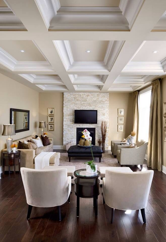 High Coffered Ceiling