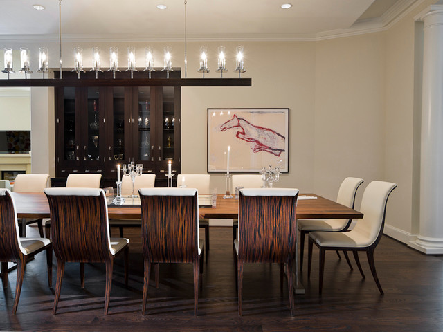 25 beautiful contemporary dining room designs for Luxury dining room design