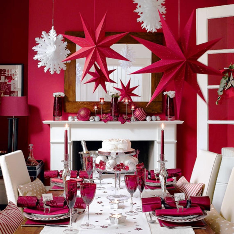Simple-Christmas-Dining-Room-Decor