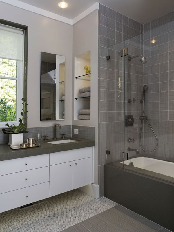30 Marvelous Small Bathroom Designs Leaves You Speechless