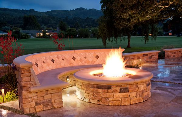 Stone-Fire-Pit