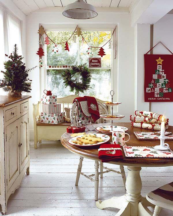 Stunning Christmas Dining Room Décor Ideas