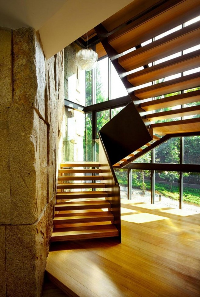 Wooden-Floor-and-Staircase-Design