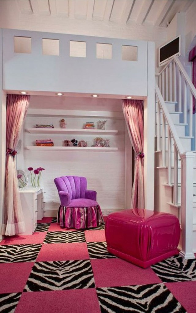bedroom-red-teenage-girl-bedroom-interior-design