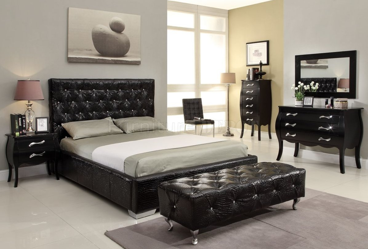 Bedroom Sets Black 15 cool black bedroom furniture sets for bold feeling