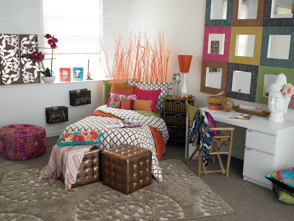 25 cool teenage girls bedrooms inspiration - Colorful teen bedroom designs ...
