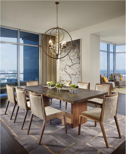 25 beautiful contemporary dining room designs for Modern dining room design photos
