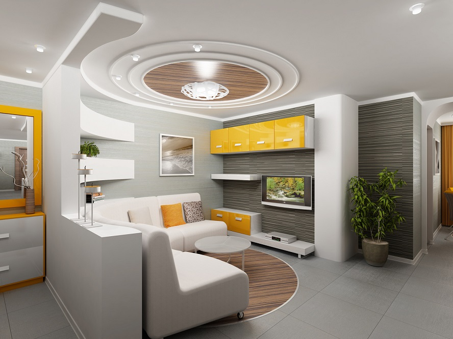 living-room-plaster-ceiling-design
