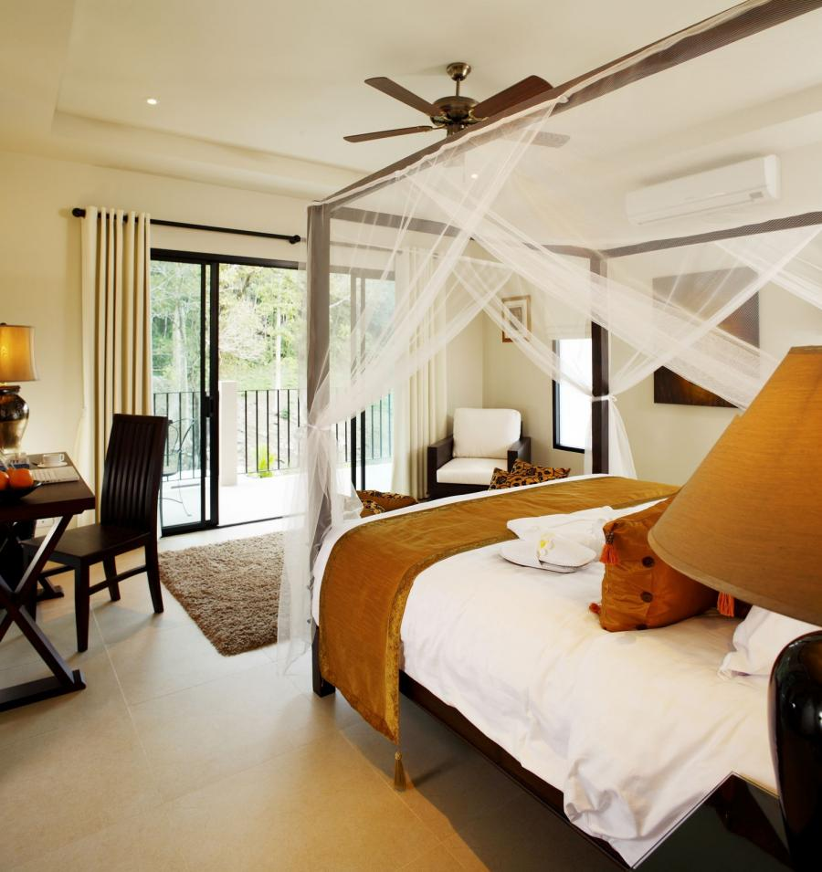 master-bedroom-with-canopy-bed-and-home-office-ideas-near-bedroom-terrace