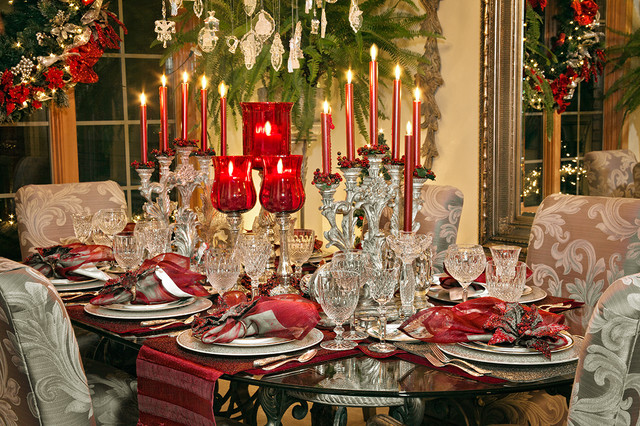 17 Best Ideas About Christmas Dining Rooms On Pinterest: 25 Stunning Christmas Dining Room Decoration Ideas