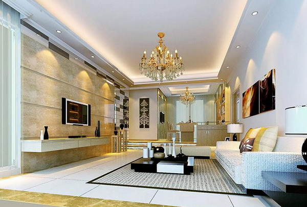 35 luxurious modern living room design ideas