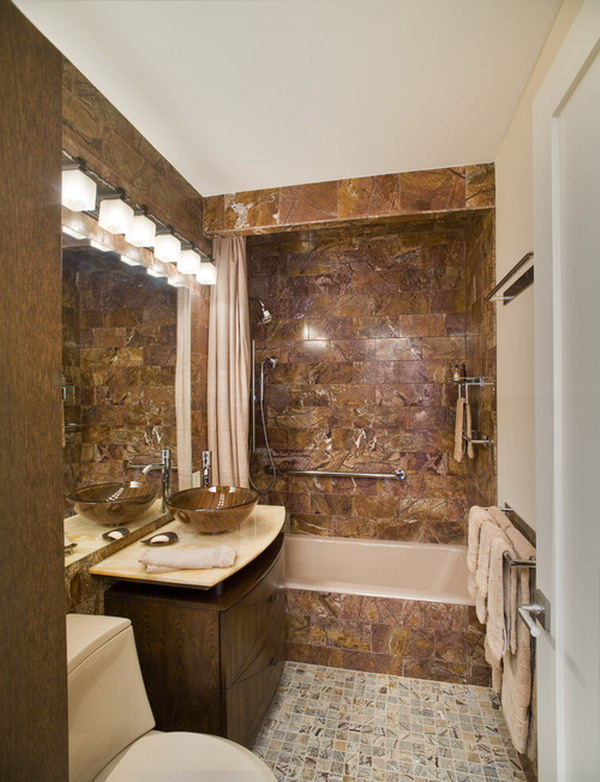 25 small but luxury bathroom design ideas for Interior decoration of small bathroom