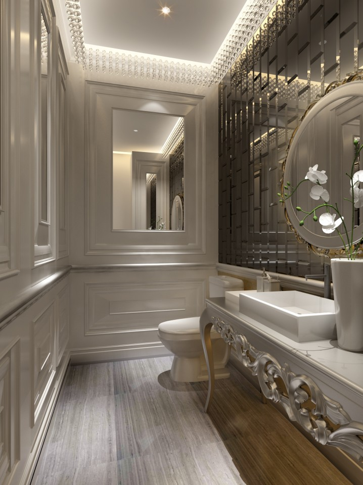 25 small but luxury bathroom design ideas for Modern small bathroom design