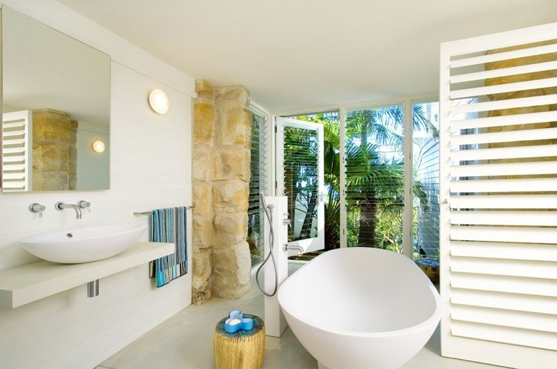 Beach Inspired Bathroom design