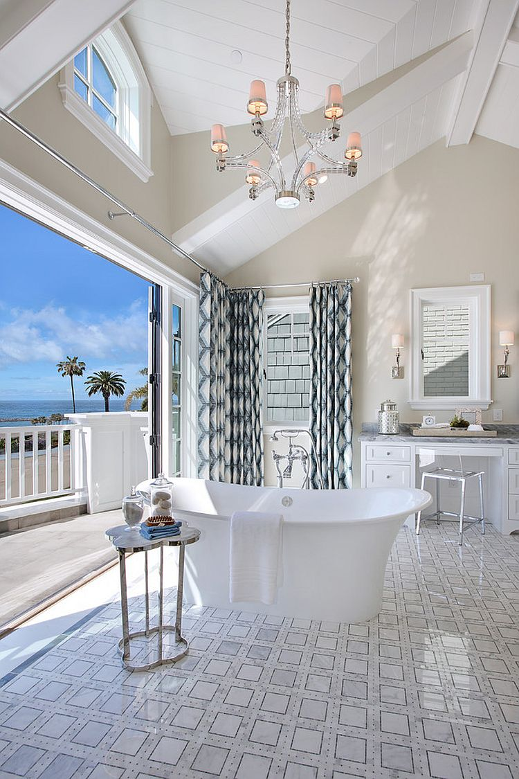 25 Beach Inspired Bathroom Design Ideas