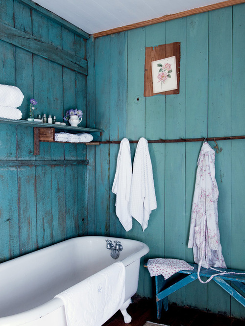 The Bohemian Style Of Decorating May Create Miracles In The Bathroom