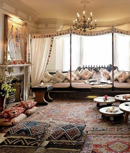 Bohemian Living Rooms