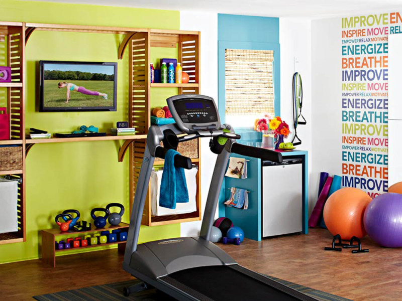 Stunning private gym designs for your home