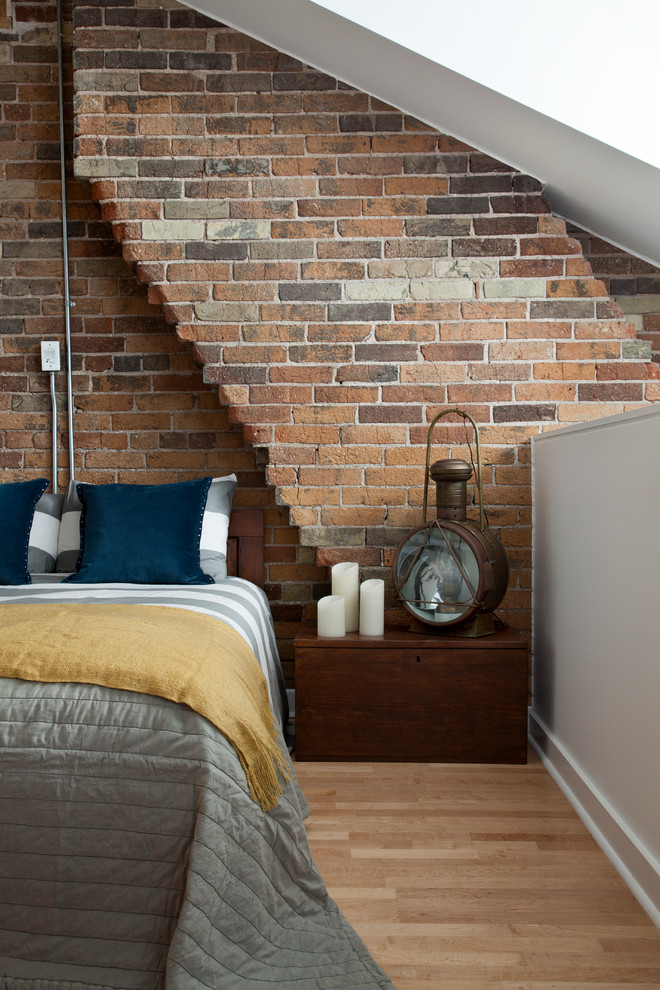 25 industrial bedroom interior designs for elegant bedroom Brick wall bedroom design