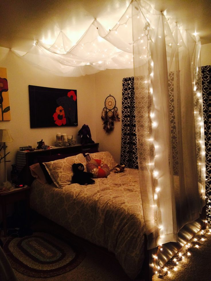 DIY Hanging Bed Canopy