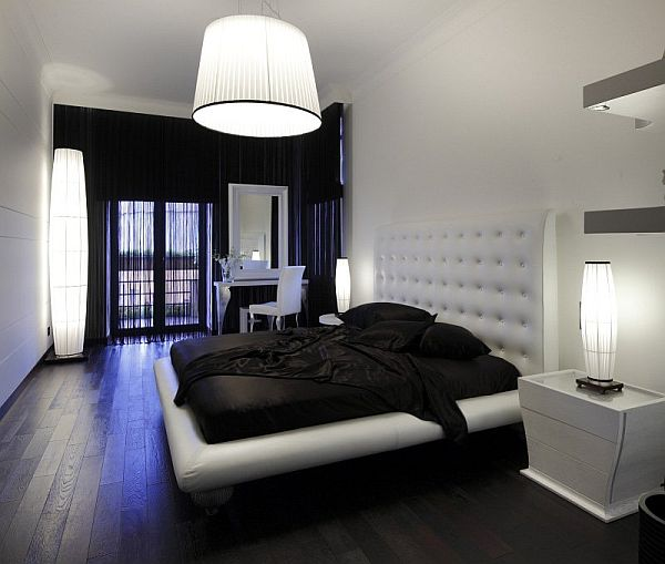 Bedroom Decorating Ideas With Black Furniture Upholstered Bedroom Bench Seat Bedroom Paint Ideas For Toddlers Fabric On Ceiling Bedroom: 25 Dark Wood Bedroom Furniture Decorating Ideas