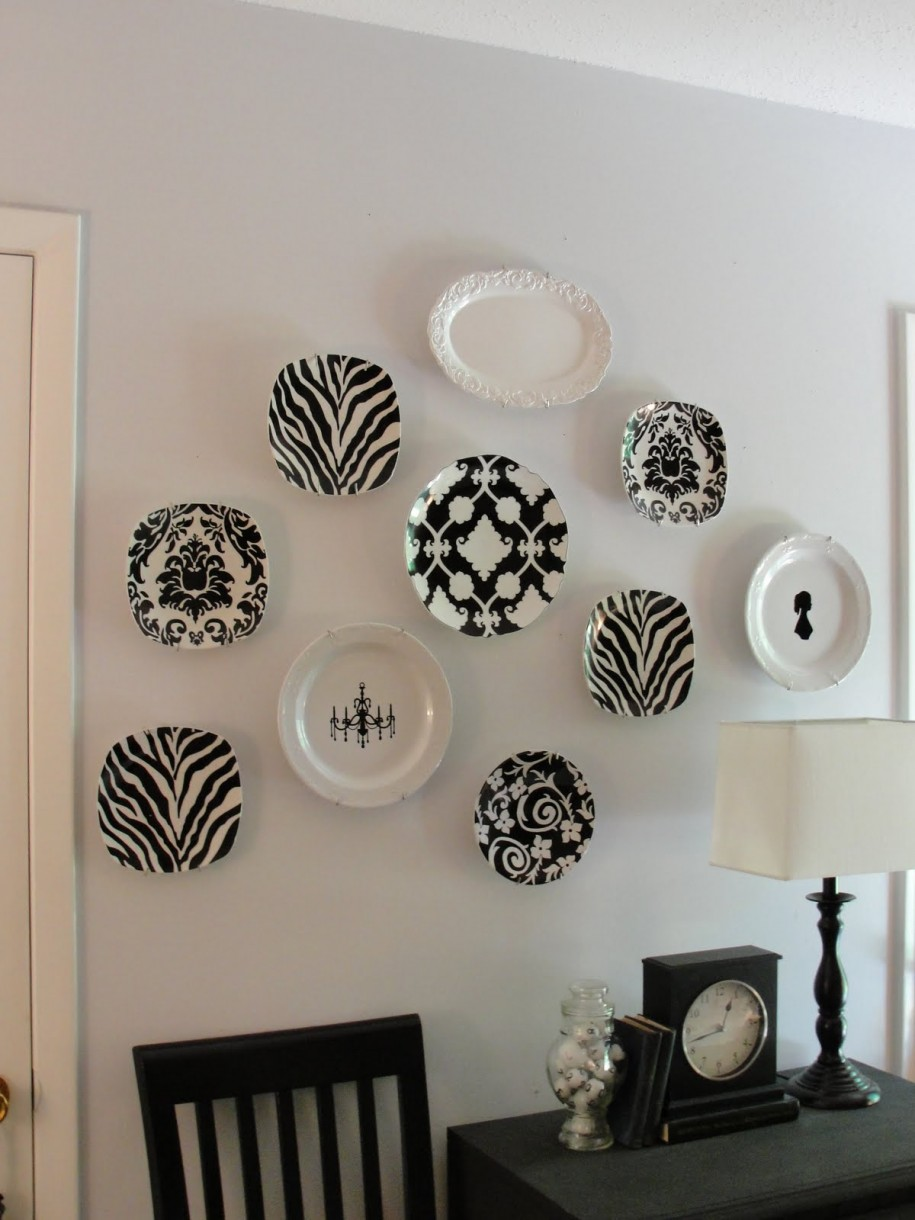 20 beautiful wall decor ideas using decorative plates for Decoracion para pared vintage