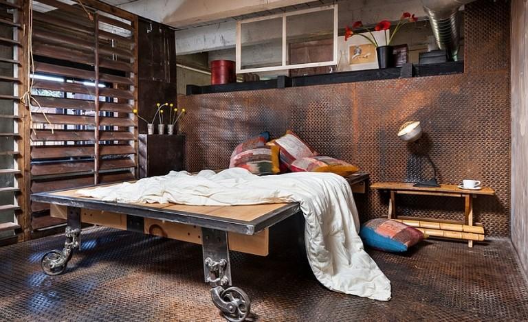 25 Industrial Bedroom Interior Designs For Elegant Bedroom