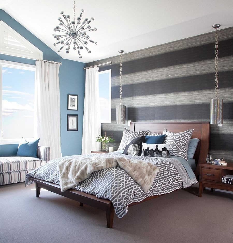 Fabulous Bedroom Has A Cheerful Breezy Ambiance