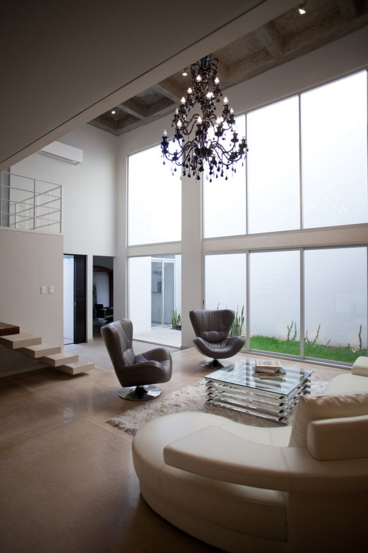 25 Tall Ceiling Living Room Design Ideas