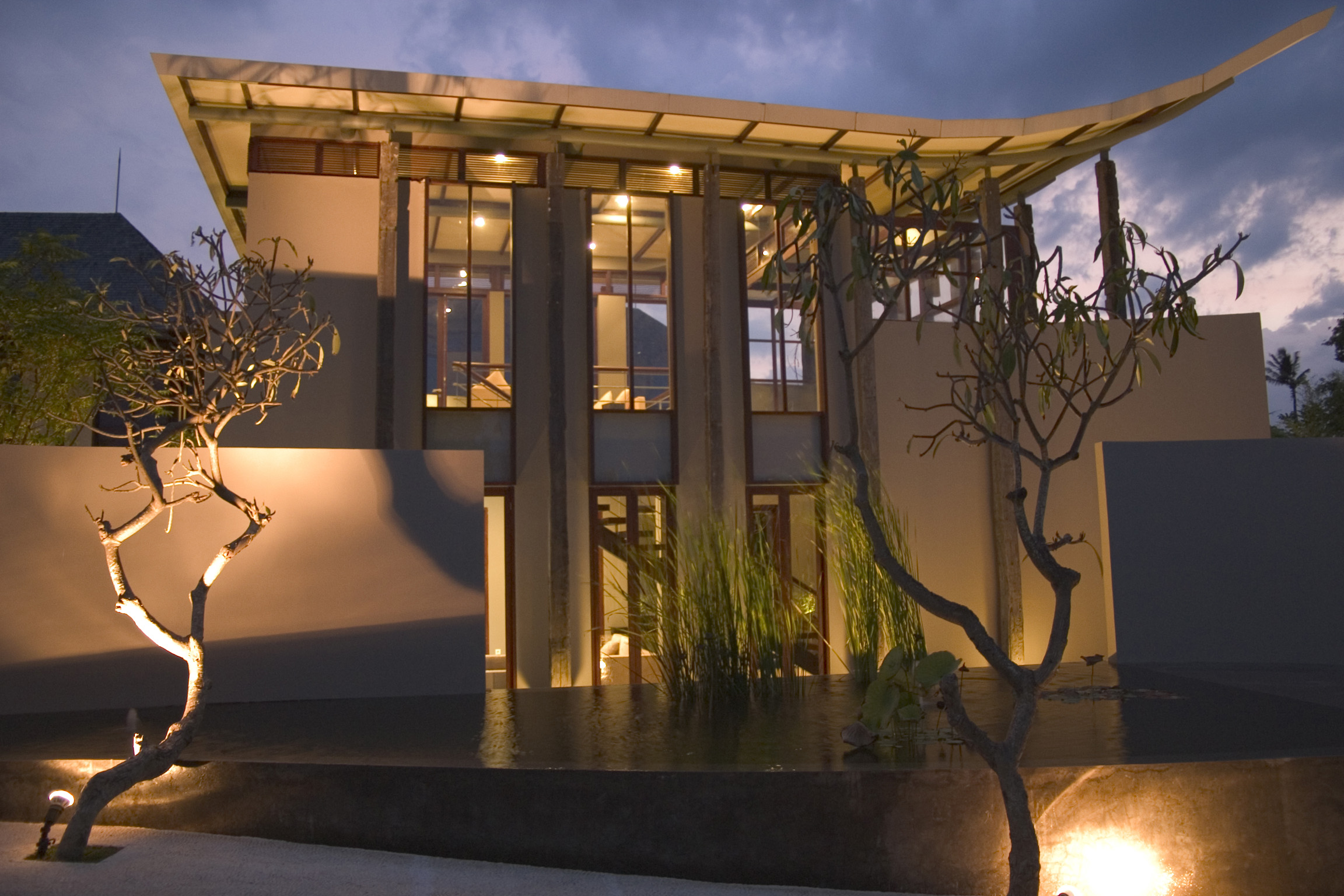 20 modern balinese house style ideas for Architecture villa