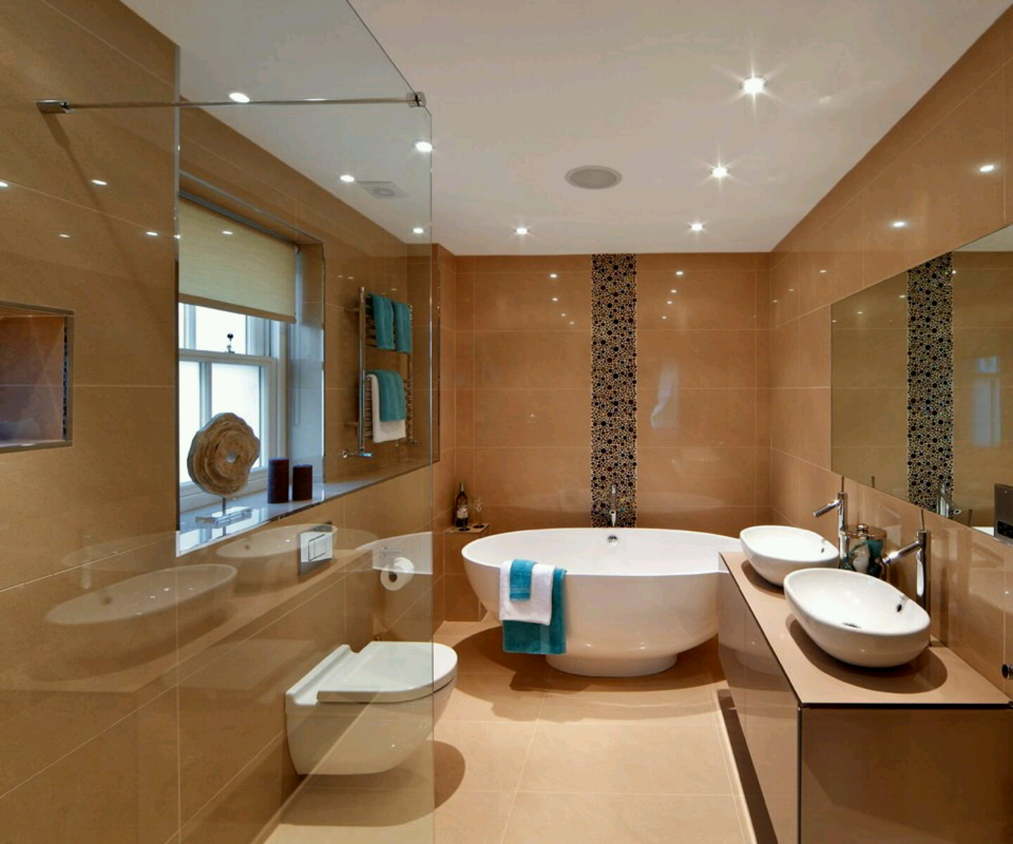 25 small but luxury bathroom design ideas for Bathroom toilet design ideas