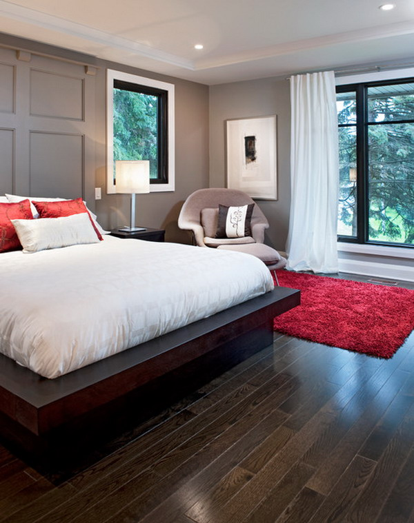 Modern-Bedroom-Decorating-Ideas-with-Platform-Bed