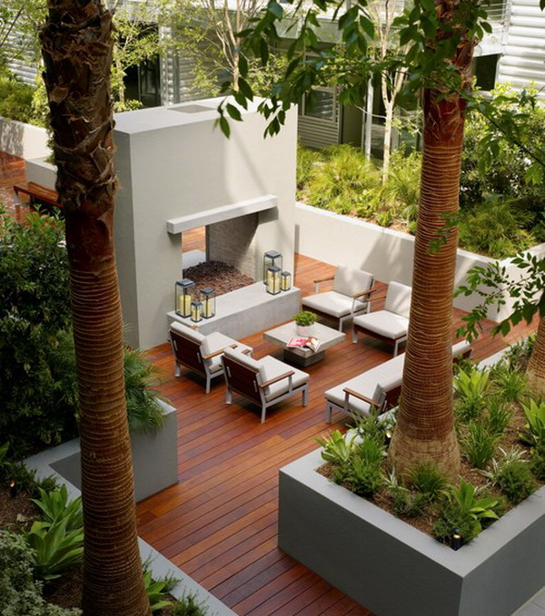 25 amazing modern patio design ideas - Deck And Patio Design Ideas