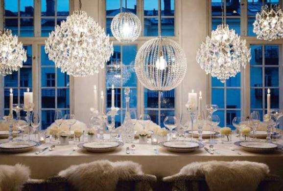 Beautiful Contemporary Crystal Dining Room Chandeliers Part 29