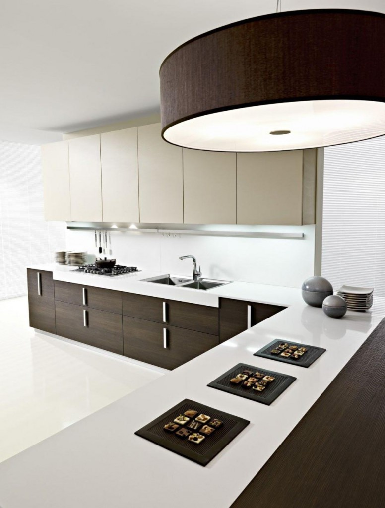 modern white and brown kitchen design 21 marvelous italian kitchen decor ideas 759