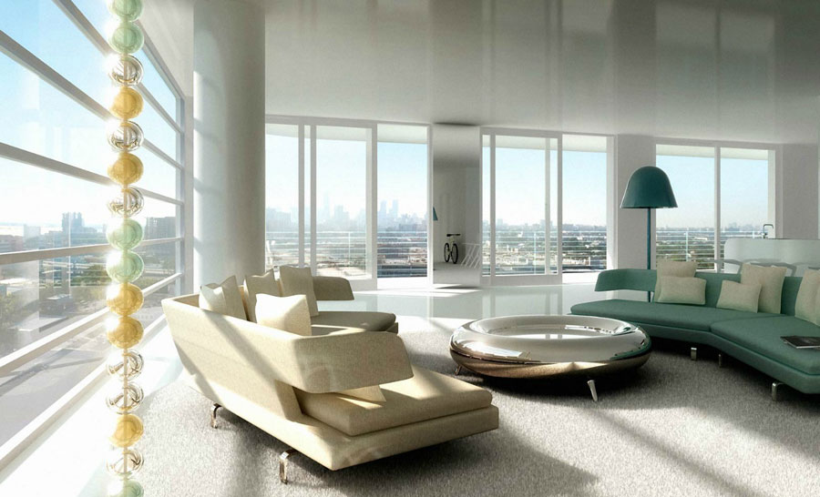 Modern Luxury Furniture For Living Room Design