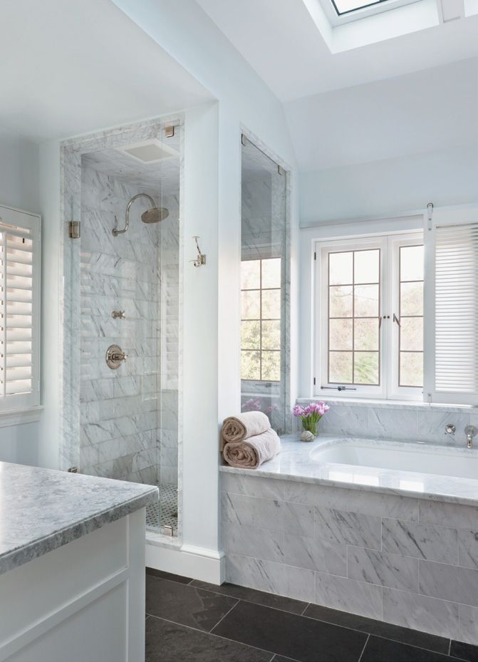 25 most popular master bathroom designs for 2016 for Popular bathroom styles