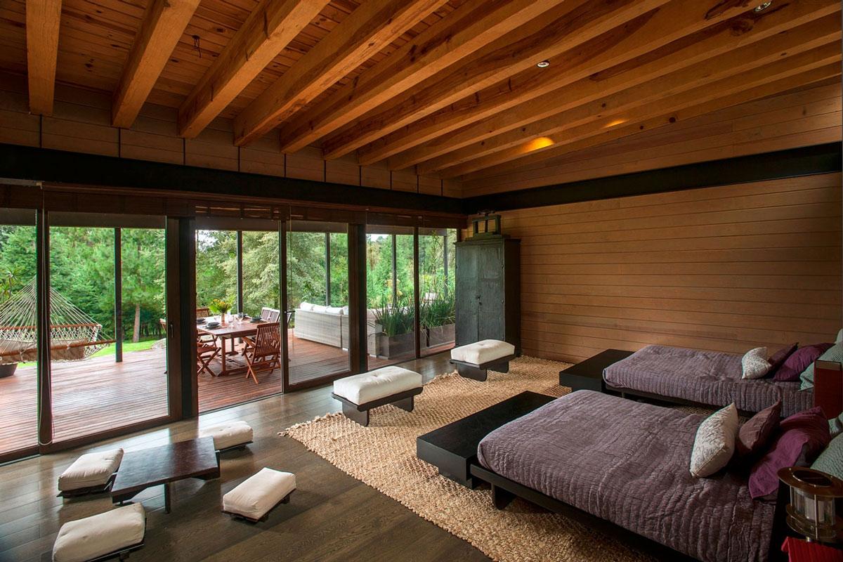 Natural Dark Wood Floors Hardwood Floor For Modern Bedroom Design