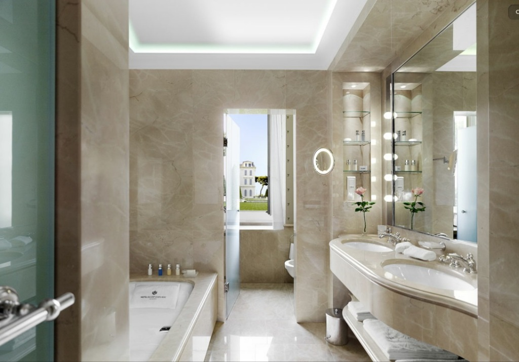 Decorative Bathroom Accessories For Hotel Project: 25 Small But Luxury Bathroom Design Ideas