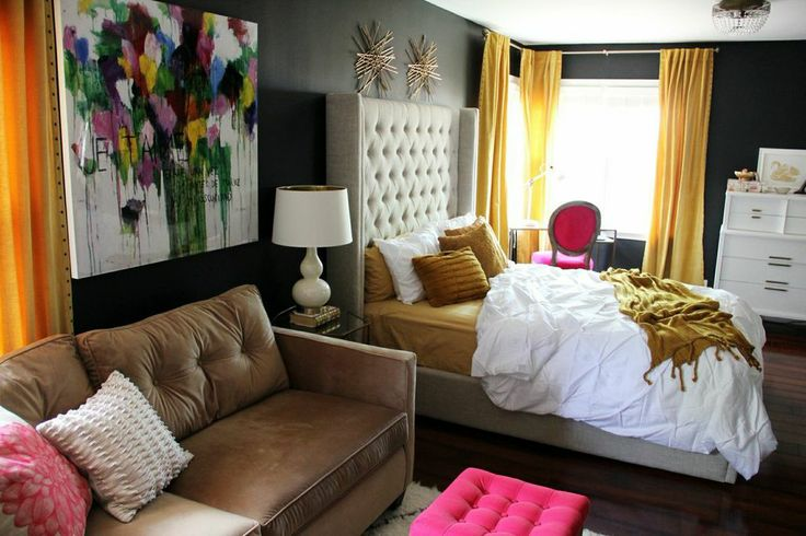 Sophisticated Chic bedroom redesign