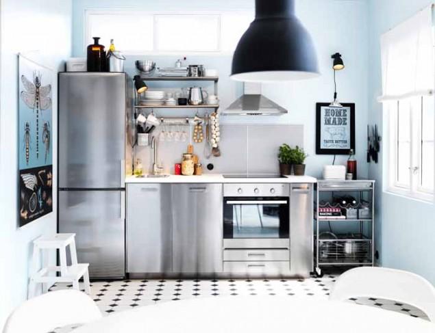 Stainless Steel Metod Kitchen