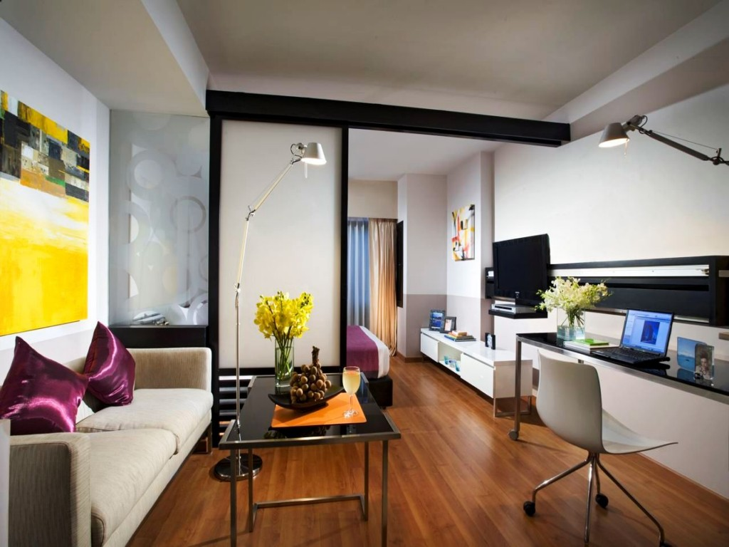 22 inspiring tiny studio apartment ideas for 2016 for Flat interior design ideas