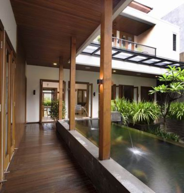 Modern House Exterior Design Modern Tropical House Design: 20 Modern Balinese House Style Ideas